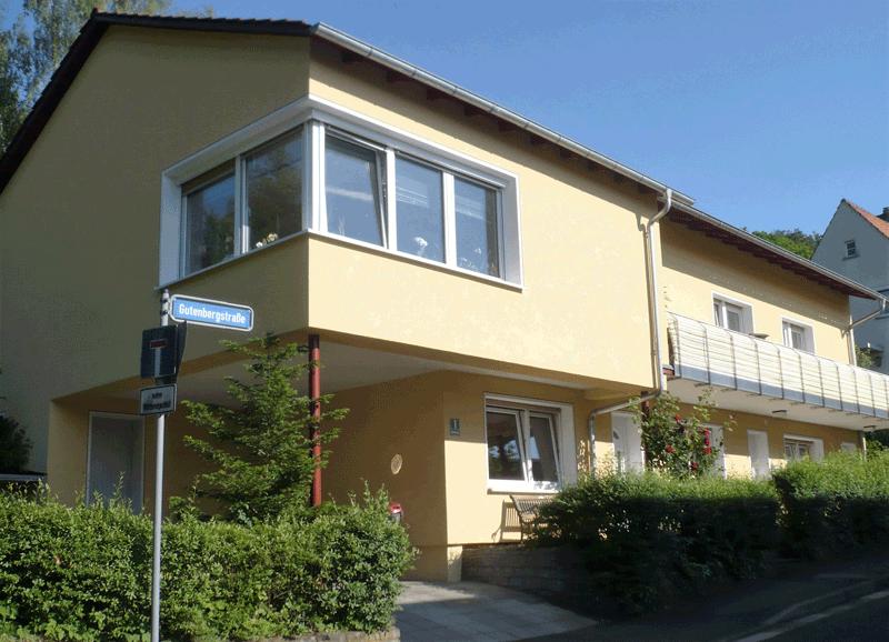 Gutenbergstraße Außen Gesamg