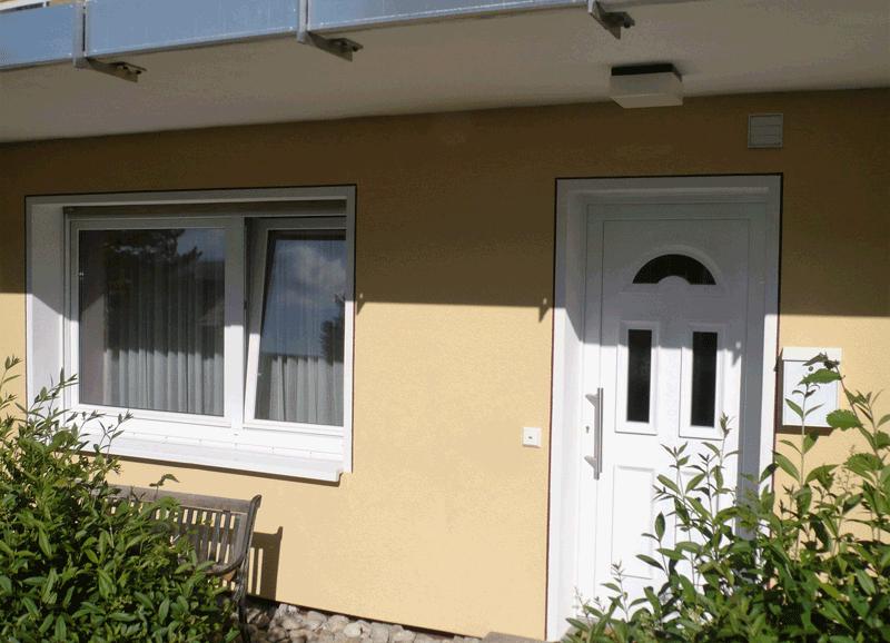 Gutenbergstraße-Eingang-Appartments